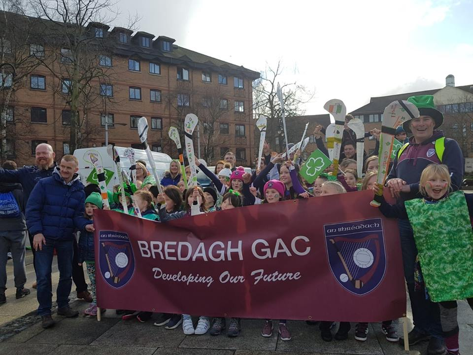 Bredagh takes part in St Patricks Day Parade