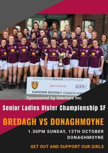 Senior Ladies in Ulster Championship Action