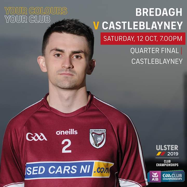 Senior hurlers in Ulster championship action
