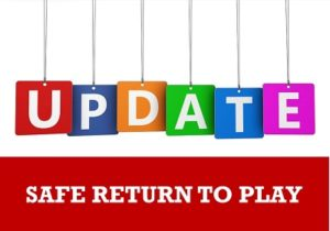 Update on return to play