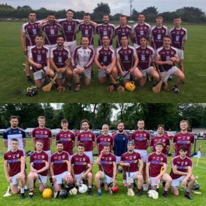 2 out of 2 wins for our senior hurlers!